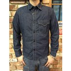 "フリーホイーラーズ FREEWHEELERS ""U.S.NAVY C.P.O. SHIRTS"" #1733001 [DEEP INDIGO CHAMBRAY]"
