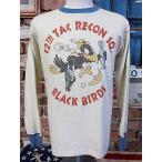 """トイズマッコイ TOYS McCOY LONG SLEEVE TEE BLACK BIRDS""""12TH TAC RECON SQ."""" TMC1767 【IVORY】"""