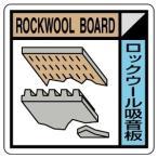 ユニット UNIT 建築業協会統一標識 KK-106 ロックウール吸音板