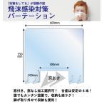 飛沫感染対策パーテーション 仕切り アクリル 窓付き 550x600mm 新型コロナウイルス感染予防 透明