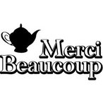 ゴム印/タグスタンプ23×39mm/tag2339-004 「Merci Beaucoup」