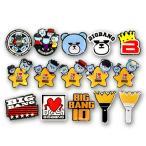 【送料込み】【代引不可】 BIGBANG (ビッグバン) ロゴ キャラクター ピンバッジ (Logo Character Pin Badge) グッズ