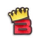 【送料込み】【代引不可】 BIGBANG (ビッグバン) グッズ - 王冠 ワッペン (WAPPEN)