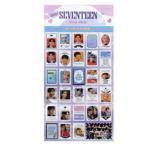 【送料無料・速達・代引不可】 SEVENTEEN (セブンティーン) 記念 切手 シール ステッカー (Celebrate Stamp Sticker) [29ピース] グッズ