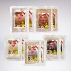 単体ご注文時にのみメール便送料無料 岡山県津山産 半鐘屋の米粉カップケーキの素(5種×2個ずつ)