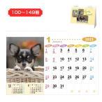 卓上カレンダー ラブリーフレンズ/犬・猫 NZ-130 (名入れ)  100〜199冊のご購入時