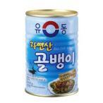 ユドン 自然産つぶ貝 400g 【韓国食品・韓国食材】