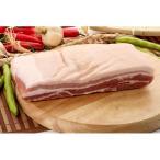 【豚肉】【輸入産】★量り売り★  皮付豚バラブロック1kg 〔クール便選択〕