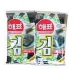 ショッピング韓国 【ヘピョ】 お弁当海苔(カットノリ)[8切x8枚x10袋]