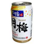 [24本(1BOX)]ソウル 月梅マッコリ(缶) 350ml 『1本当り¥221税込』