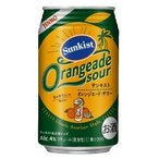 【JINRO+サンキスト】オレンジエード・サワー 4℃ 350ml