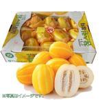 【韓国産果物】まくわうり(チャメ)1箱(約12〜15個)5kg「クール選択商品」 ★激安★