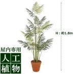 【人工植物】グリーンデコ鉢付 ヒメヤシ 1.8m