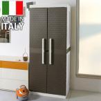 ショッピング屋外 屋外収納 ラタンラインキャビネット Rattan line cabinet / 大型宅配便 / ラタン調物置 ストッカー 収庫 食材収納庫 ファニチャー
