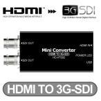HC-HTS02 HDMI→SDI変換コンバーター HDMI信号を2つのSDI信号に変換・分配するコンバーター