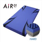 [ポイント10倍]西川 高反発 ベッドマットレス エアー AIR 01 ハード 80 2020年新モデル 14cm×80cm×195cm AI9651 ブルー 敷ふとん 敷き布団 体圧分散 血行促進