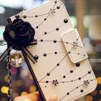 雅虎商城 - iPhone 6 6s 手帳型 スマホ ケース バラ イヤホン ジャック カバー 付き レディース