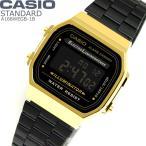 カシオ CASIO 腕時計 チープカシオ メンズ レディース クォーツ ブラック チプカシ デジタル A168WEGB-1B