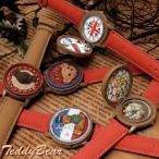 腕時計 レディース テディベア 熊 クマ 蓋付き キッズ おもしろ クリスマス