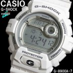 ショッピングShock G-SHOCK カシオ 腕時計 G-8900A-7 CASIO Gショック ホワイト 白