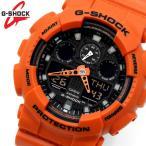 CASIO カシオ G-SHOCK Gショック ジーショック メンズ 腕時計 ミリタリー オレンジ 海外モデル GA-100L-4A