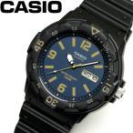 カシオ CASIO クオーツ メンズ ウォッチ 時計 ネイビー チプカシ チープカシオ MRW-200H-2B3