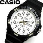 カシオ CASIO ダイバールック DIVER LOOK クオーツ メンズ 腕時計 ホワイト MRW-210H-7A