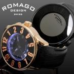 腕時計 西内まりや着用 芸能人 ロマゴ ROMAGO レディース メンズ ヌメレーション 男女兼用 RM007-0053ST