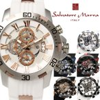 クロノグラフ 腕時計 メンズ サルバトーレマーラ ...