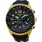 プロスペックス SEIKO セイコー メンズ ウォッチ 腕時計 ソーラー クロノグラフ レザーベルト SSC264P1