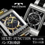 腕時計 メンズ メンズ腕時計 TECHNOS マルチファンクション テクノス