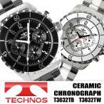 腕時計 メンズ メンズ腕時計 TECHNOS クロノグラフ テクノス