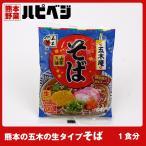もっこす親父おすすめ 熊本の五木のそば【161g(めん150g)】同梱専用 ※こちらの商品は野菜セット購入した方のみの同梱商品になります。