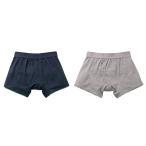 尿漏れパンツ 男性用ちょい漏れトランクス メンズ さわやかボクサーパンツ 同色2枚組 メール便発送