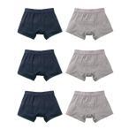 尿漏れパンツ 男性用 尿もれトランクス メンズ さわやかボクサーパンツ 6枚組