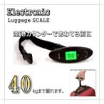 電子はかり キャリーケースやスーツケース用にも デジタルスケール 手提げはかり 吊り秤 WH-A15 ラゲッジチェッカー