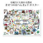 ショッピングお風呂 登録商標 お風呂でも使える 季節表 きせつのおべんきょう学習ポスター
