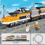 ブロック互換 レゴ 互換品 レゴハイスピードトレイン 鉄道 電車 クリスマス プレゼント