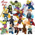 LEGO - レゴミニフィグ アベンジャーズ 16体セット 互換 送料無料
