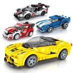 レゴ レゴブロック LEGO レゴスピードチャンピオン 4個Dセット 互換品クリスマス プレゼント