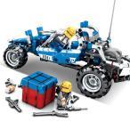 レゴ レゴブロック LEGO バトルロイヤルゲーム 荒野行動 プルバック式 車 レゴ互換品