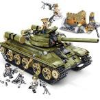 ブロック互換 レゴ 互換品 レゴミリタリーソ連T34戦車ソビエトT-34戦車 互換品クリスマス プレゼント