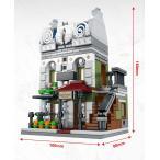 ブロック互換 レゴ 互換品 レゴミニモジュール パリのレストラン レゴブロック LEGO クリスマス プレゼント