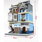 ブロック互換 レゴ 互換品 レゴミニモジュール ペットショップ レゴブロック LEGO クリスマス プレゼント