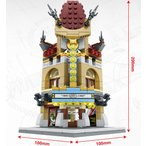 ブロック互換 レゴ 互換品 レゴミニモジュール 映画館 レゴブロック LEGO クリスマス プレゼント
