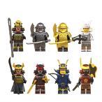 ブロック互換 レゴ 互換品 レゴミニフィグ サムライ 侍 武士セット レゴブロック LEGO クリスマス プレゼント