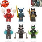 ブロック互換 レゴ 互換品 レゴミニフィグ ダークナイツメタル 他6体セット レゴブロック LEGO クリスマス プレゼント
