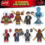 レゴ レゴブロック LEGO レゴミニフイグ スパイダーマンなど8体Gセット 互換品