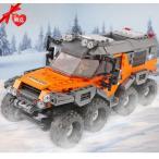 レゴ レゴブロック LEGO レゴオフロードアドベンチャート 車 互換品クリスマス プレゼント