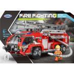 レゴ レゴブロック LEGO レゴ消防車 はしご車 互換品 クリスマス プレゼント